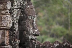 buddha ansikte vid angkor wat foto