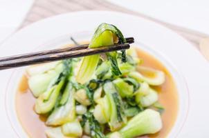 hinese bok choy gröna grönsaker foto