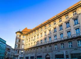 prag: byggnader och arkitektur detaljer foto