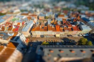 lviv gamla stad i Ukraina foto