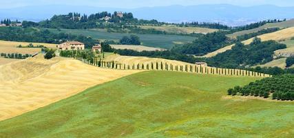 crete senesi (Toscana, Italien)