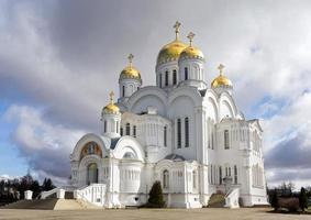 helig treenighet seraphim-diveevo kloster, Diveevo, Ryssland foto