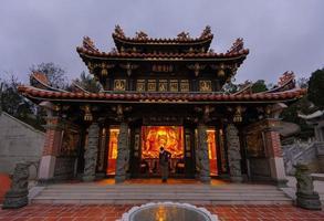 traditionellt kinesiskt tempel foto