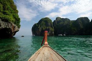 Thailand krabi phi phi ö foto