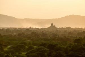 tempel i bagan, myanmar foto