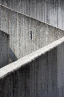 abstrakta betongväggar
