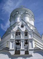 klocktorn från ortodoxa kyrkan foto