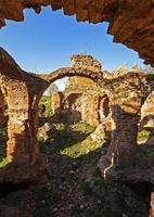 fästningsruiner foto