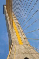 mega bridge i bangkok, thailand (rama 8 bridge) foto