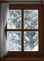 fönster med utsikt foto