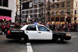 polis bil foto