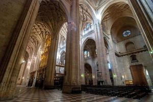 magnifika katedralmuseum i segovia, Spanien foto