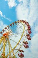 pariserhjul, observationshjul, stort hjul foto