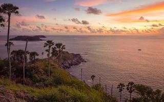 promthep udde, Phuket-provinsen Thailand foto