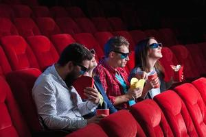 folkets känslor i biografen foto