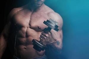 träning för biceps foto