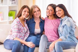 grupp flickor foto