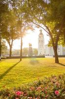 utsikt över det centrala torget i Vilnius foto