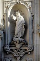 chiesa di sant'irene.particolare. lecce. apulia. Italien foto