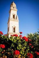 klocktorn, lecce domkyrka, Italien foto