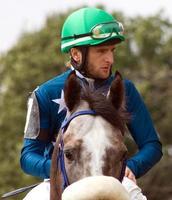 jockeyen. foto