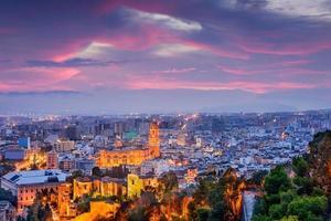 malaga spanien foto