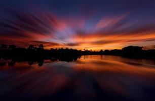 soluppgång på naplarna, Florida foto