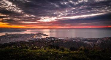 kväll i Triestebukten foto