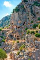 kyrka och bostäder för tidiga kristna foto