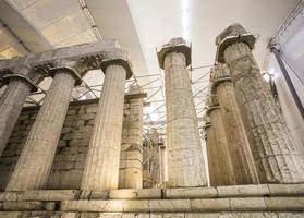 Apollo epicurius tempel, argolida, Grekland foto