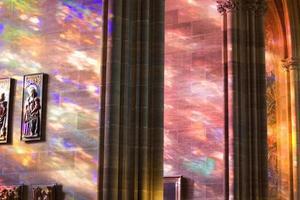 himmelskt ljus foto