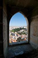 Lissabon panoramautsikt foto