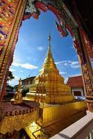 thailändska templet för buddhismen foto