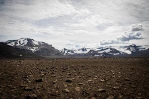 glaciärer på Island foto