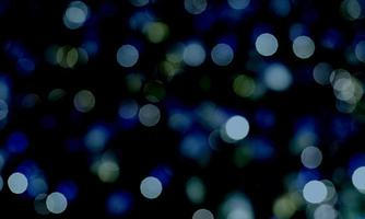 abstrakt bokeh blå ljus