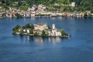 översikt över Orta sjön foto