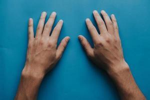 närbild av händerna