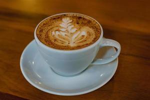kopp cappuccino foto