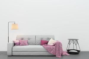 ett modernt vardagsrum foto