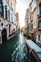 den stora kanalen i Venedig foto
