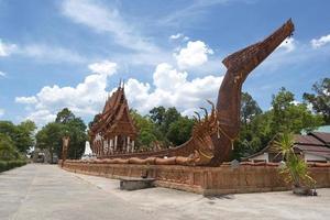 wat ban na muang buddhisttempel i ubon ratchathani, Thailand