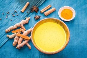 organisk curcumin honung gyllene mjölk