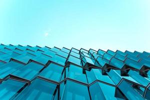 arkitektonisk fotografering av glasbyggnad foto