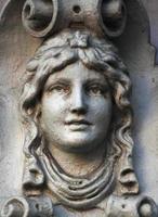 ansikte av gudinnan hera foto