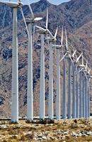 vindkraftverk i Amerika foto