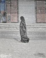 egyptisk kvinna foto