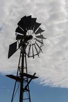 australiska vindkraftverk foto