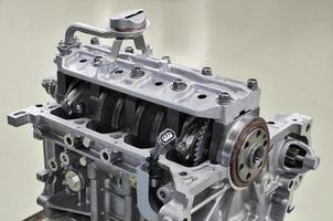 utveckling av fordonsmotor foto