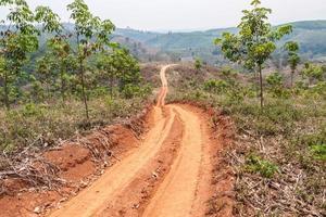 vägar i landsbygdsområden i utvecklingsländerna