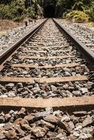 låg hastighet järnväg. finns också i utvecklingsländerna. foto